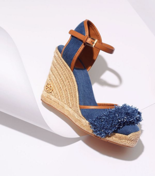Tory Burch Shaw Wedge Shoes