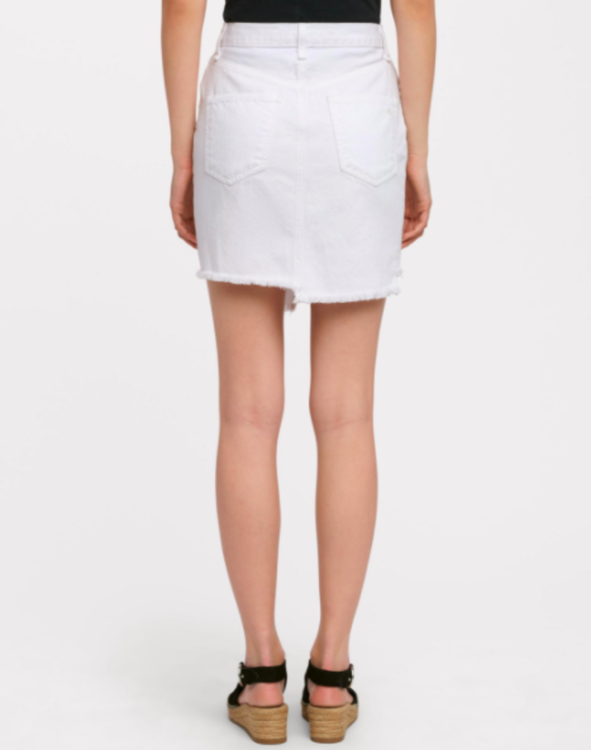 Rag & Bone Dive Skirt in White Skirts
