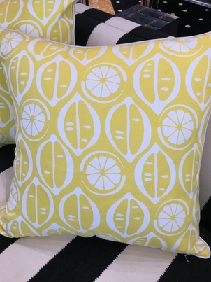 Selamat Lemon Pillow Home decor