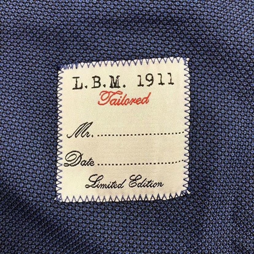 L.B.M. Not all navy blazers are created equally.