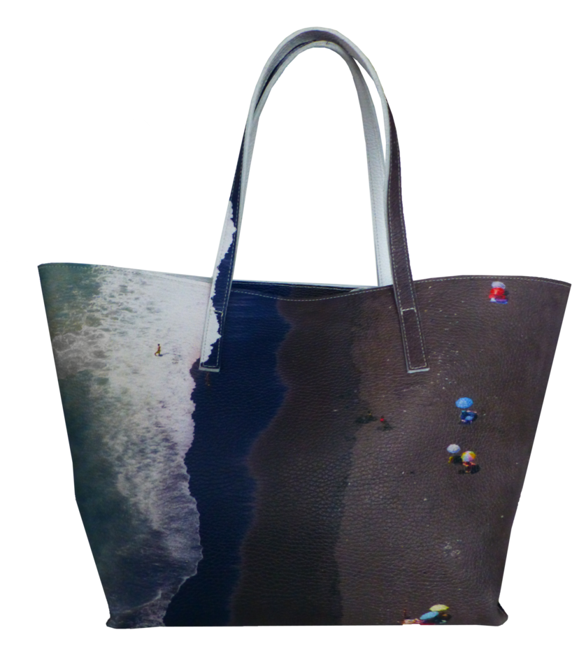 The Dark Beach Wide Tote