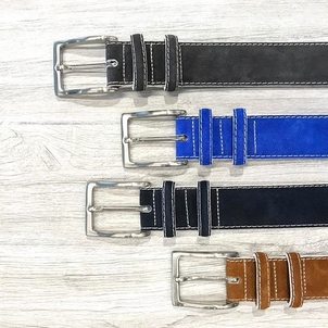 W. Kleinberg Suede Belts Accessories