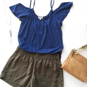 Gorjana Hammitt Joie Casual Outfit Bags Shorts Tops