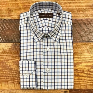 Robert Talbott New linen/cotton blended sport shirts Tops