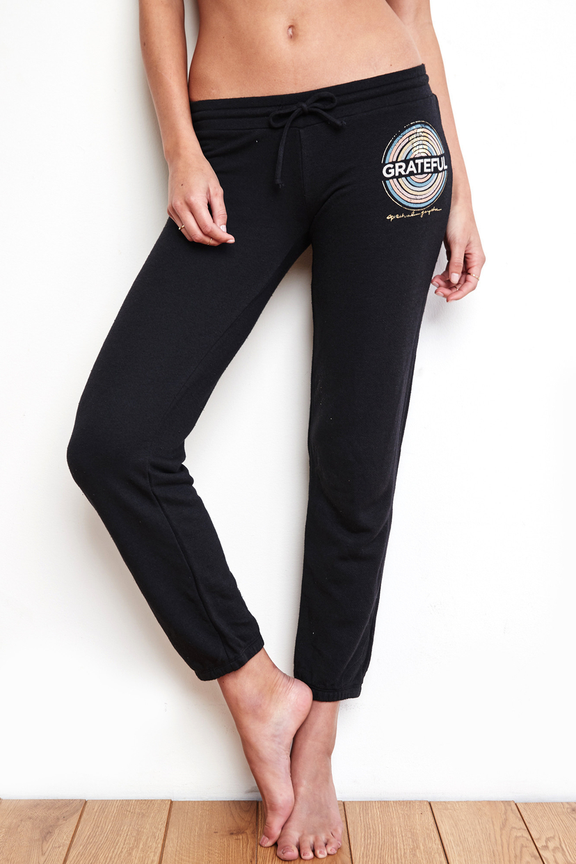 Spiritual Gangster Grateful Medallion Bliss Sweatpants
