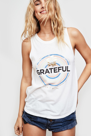 Spiritual Gangster Grateful Medallion Muscle Tank Kids