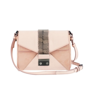 Alexandra Clancy Quince Crossbody in Blush Bags