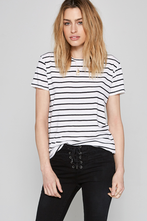 Amuse Society Striped Tanner Tee