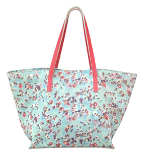 Paige Gamble The Polka Dot Pool Wide Tote Bags