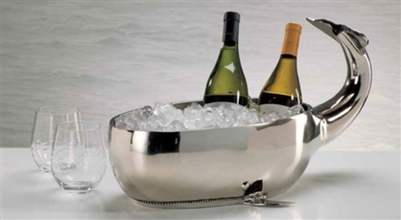 Whale Design Bowl / Beverage Tub