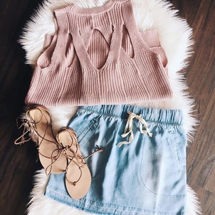 Gentle Fawn Lovestitch Splendid Cool Nights Outfit Shoes Skirts Tops
