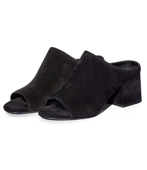 3.1 Phillip Lim Cube Open Toe Slip On in Black Shoes