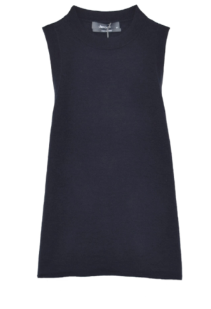 Jac and Jack Boat Tank in Darkest Navy Tops