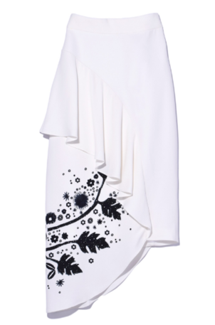 Peter Pilotto Printed Cady Skirt Sale Skirts