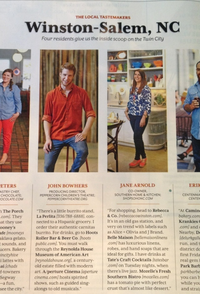 Southern Living Mention